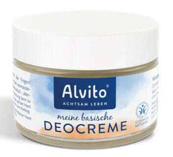 Alkaline Deodorant Cream - 90 ml