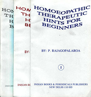 Homoeopathic Therapeutics Hints for Beginners (In 3 Volumes), Rajagopalarao, P.