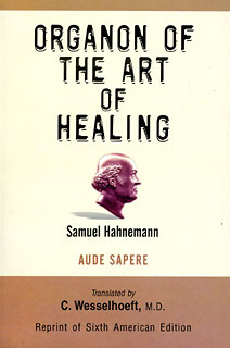 Organon The Art of Healing, Samuel Hahnemann
