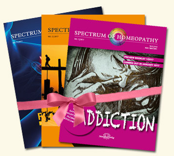 Spectrum of Homeopathy - Subscription 2017, Narayana Verlag