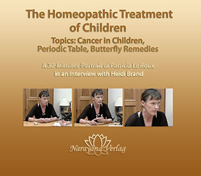 The Homeopathic Treatment of Children - DVD, Patricia Le Roux