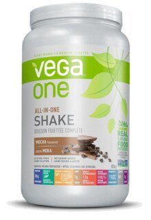 Vega One all-in-one Nutritional Shake - Mocha, Boîte de 836 g