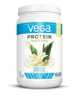 Vega Protein & Greens - Vanilla Flavour container - 614 g