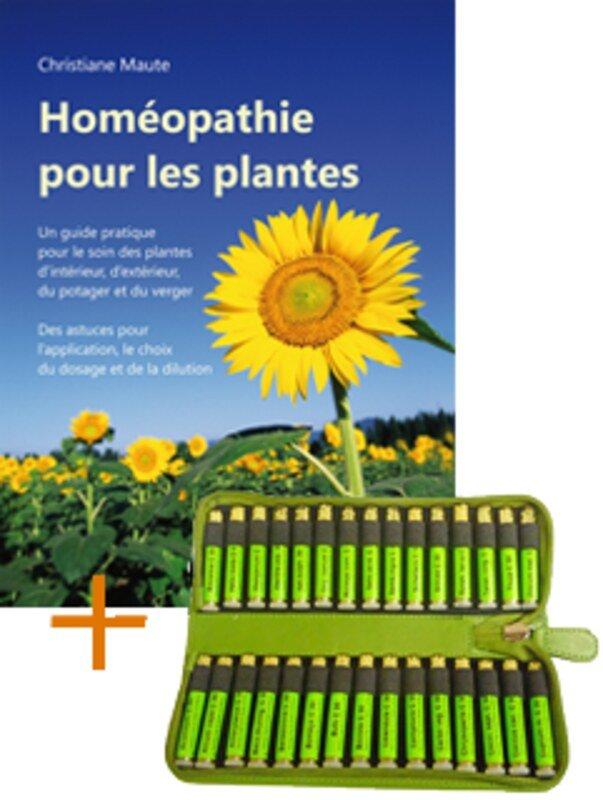 hom opathie pour les plantes livre kit de base de 30 fioles rem des hom oplant. Black Bedroom Furniture Sets. Home Design Ideas