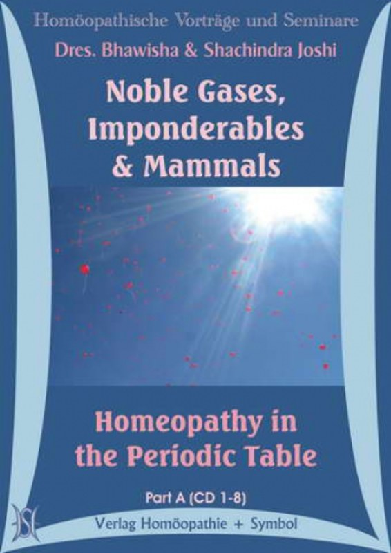 Noble gases imponderables mammals homeopathy in the periodic noble gases imponderables mammals homeopathy in the periodic table 15 cds urtaz Gallery